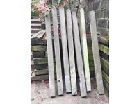 Concrete fence posts for sale