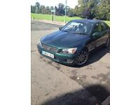 2004 lexus is200 se 2.0 petrol in green