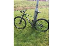 BMC FULL SUSPENSION MOUNTAIN BIKE