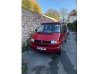 VW T4 Campervan (2+2 berths with 5 belted seats)