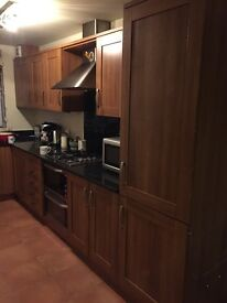 Kitchen for sale - great condition includes 11 cupboards, 5 draws, granite worktop