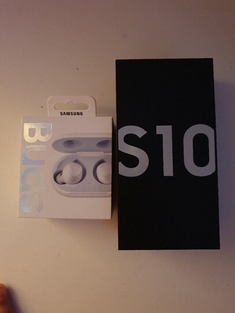 Samsung S10 White with Samsung wireless ear buds ! New contact number | in  Cardiff City Centre, Cardiff | Gumtree