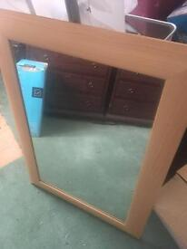 Large wall mirror perfect condition and well looked after