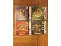 Professor Layton Nintendo DS games (x4)
