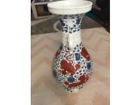 Chinese antique large vase with seal marks to the base