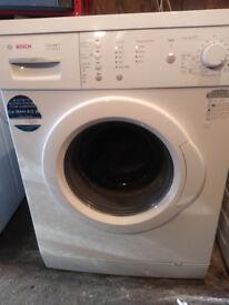 Bosch touch control washing machine