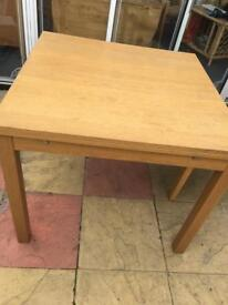ikea bjursta extendable oak table