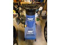 Draper Garden Power 2400W Garden Shredder Mulcher Chipper