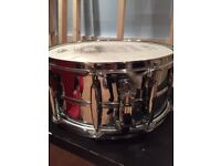 World Max 14x6.5 steel snare