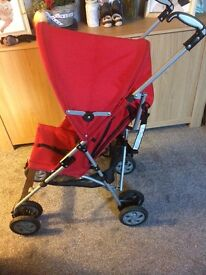 Bargin Stroller, chicco red very good conditions!!!