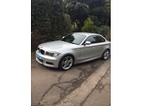 BMW 123D M Sport coupe in silver want be disappointed