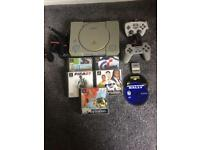 Ps1 console with games not Xbox or Nintendo