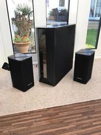 Panasonic Surround Sound 2.1 System, 2x50w Speaker and 100w Subwoofer