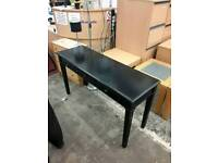 black hallway table - Delivery Available