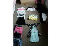 Girls clothes bundle 5-7yrs
