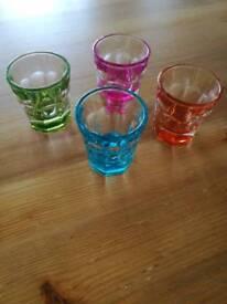 Set of 4 Shot Glasses