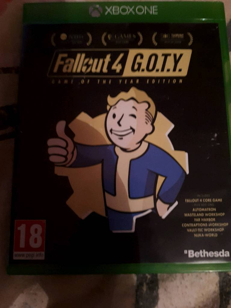 Fallout 4 GOTY edition inc DLC £8 | in Middleton, West Yorkshire | Gumtree