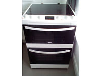 Brand New Zanussi Electric Double Oven, Grill and Hob.
