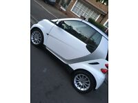 White Smart fortwo 0.8 CDI Passion Cabriolet 2dr