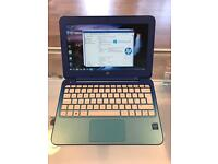 Blue HP Netbook