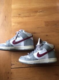 NIKE TRAINERS HIGH TOPS RARE SIZE 6
