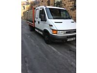 Iveco tipper crew cab 2004 reg mot nov drives as it should ready for work