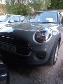 2015 65 MINI HATCH ONE 1.2 ONE 3 DOOR GREY IMMACULATE CONDITION