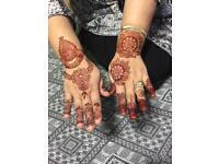 Henna mehndi artist