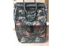 Tapestry Garment case with matching large Tote Bag