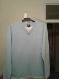 Blue Ralph jumper large new