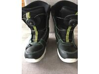 SnowBoard Boots childrens size 1, used 1trip, perfect,very comfortable,view try on etc Boscombe Pier