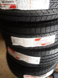 BRAND NEW WITH LABELS HIGH PERFORMANCE FIRESTONE ALL SEASON 235 / 70 / 16 TIRE SET OF FOUR..