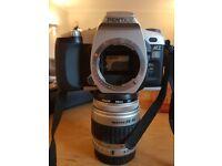 Pentax MZ-6 + SMC 28-90mm FA Silver Zoom - Film Camera