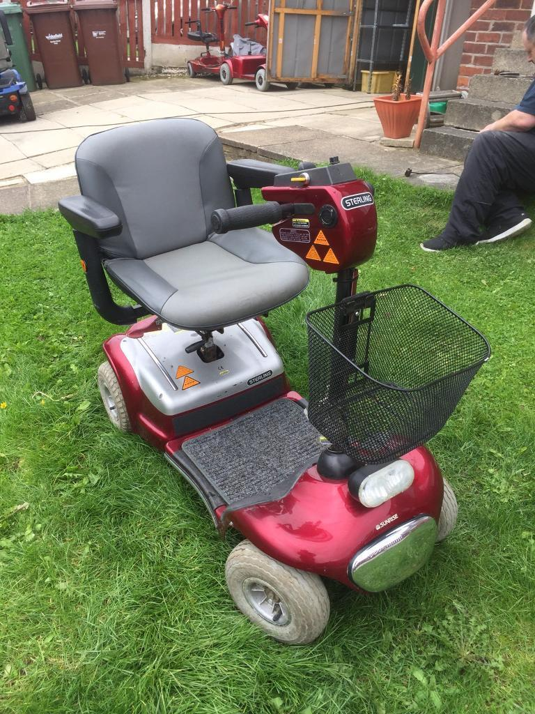 STERLING SAPPHIRE MOBILITY SCOOTER