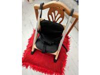 High Chair Stokke® HandySitt™ Portable On the Chair Luxury Comfortable Useful Elegant Space Saving