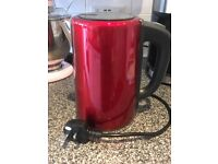 Red kettle from Tesco.