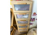 Ikea wardrobe and drawers