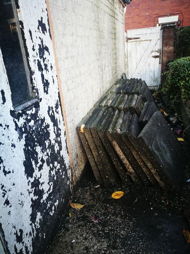 39 garden slabs for collection FREE