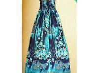 Women's summer tube dress