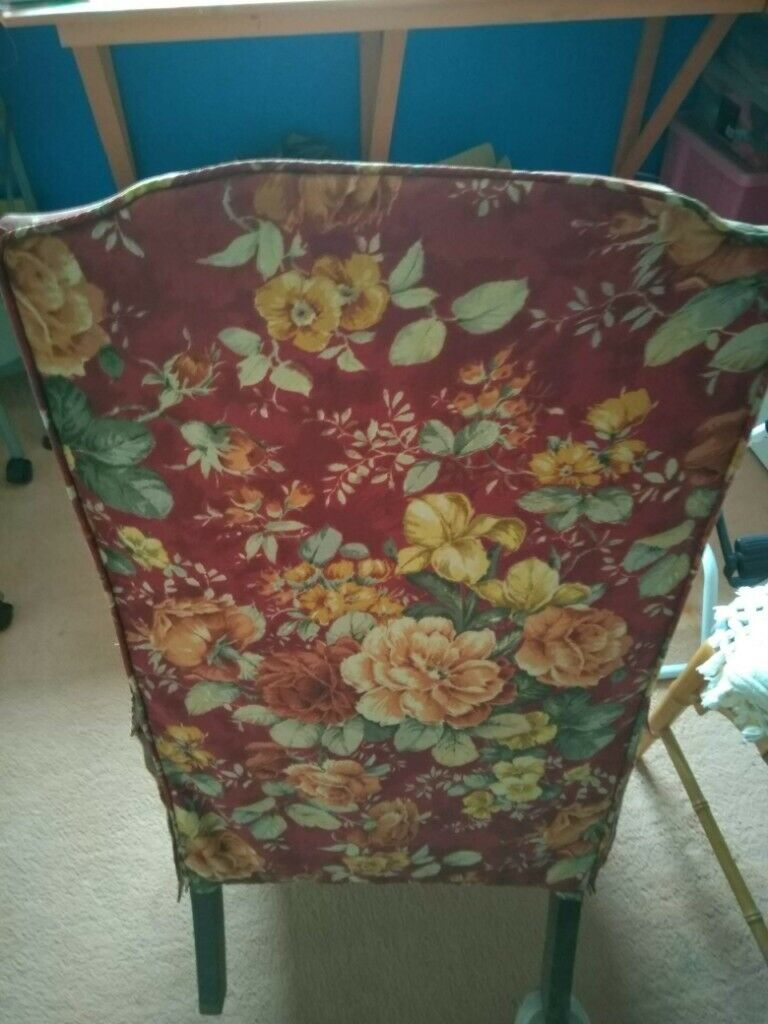 Solid Wood Frame Nursery Chair Loose Covers Collect From