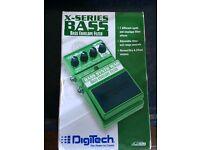 Digitech Bass Envelop Filter Effect Pedal