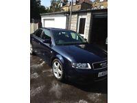 Audi A4 2litre sport petrol, new mot, 97000 miles, DAB radio