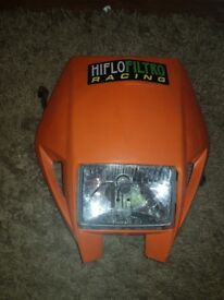 Genuine KTM headlight