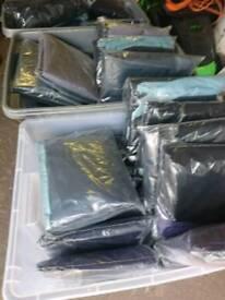 Joblot of waterproof seat covers