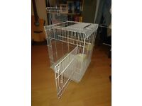 Small cage suitable for budgies and other small animals