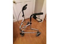 Aidapt 3 Wheel Folding Walking Frame Zimmer