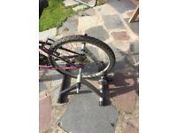 Bike trainer - turn your bike into a stationary bike