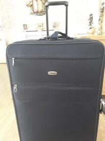 Skyfflite,lightweight navy suitcase