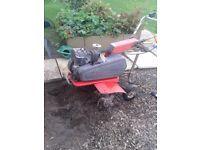 spartan merry tiller rotovator 24 inch 5 hp briggs stratton engine gwo