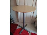 ikea breakfast bar & two folding stools
